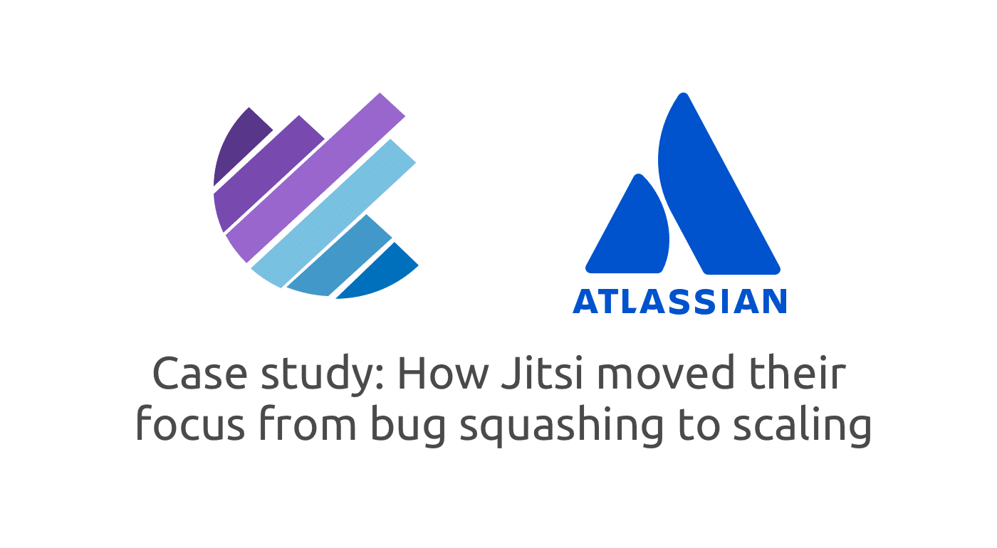 Read how Jitsi moved their focus from bug squashing to scaling with our help.