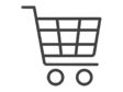 shopping cart outline icon