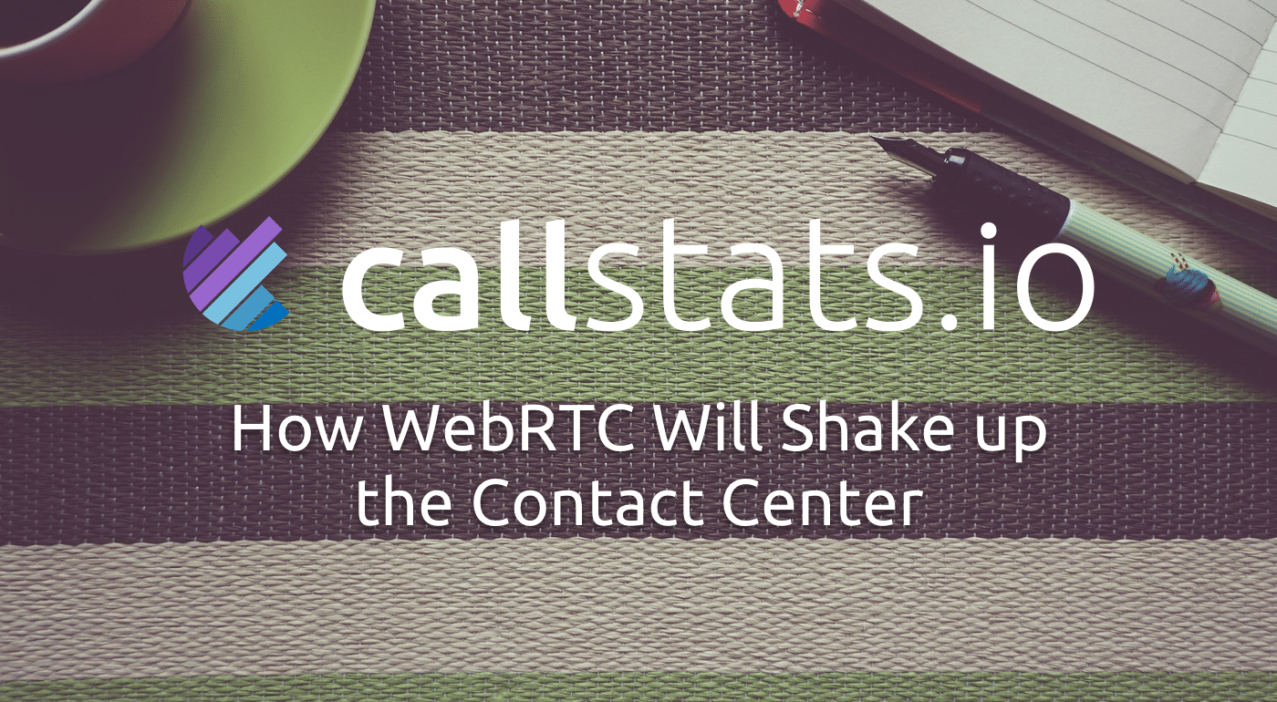 How WebRTC diversifies contact center tasks. An illustration to the think piece.