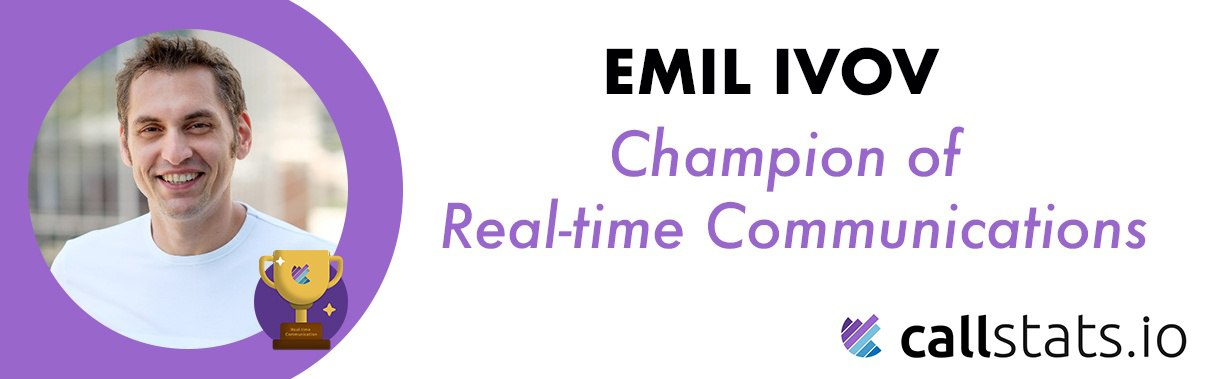 What Does Emil Ivov Anticipate from the Future of RTC? [Champion Series]